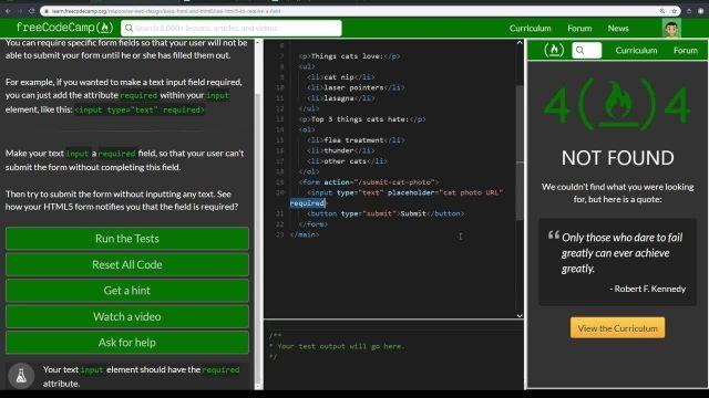 آموزش کامل مبانی html5 - استفاده از HTML5 برای نیاز به فیلد