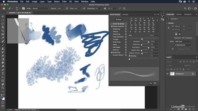 آموزش فتوشاپ - پیش فرض ها و تنظیمات قلم