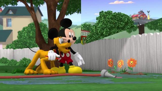 دانلود انیمیشن زیبای میکی موس (Mickey Mouse Cartoon) این قسمت: مایعات شیلنگ آب