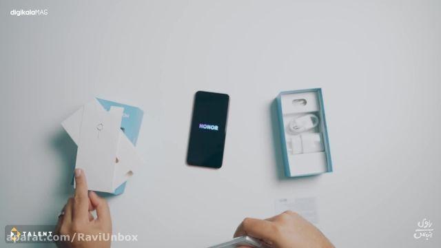 جعبه گشایی و آنباکسینگ گوشی هوشمند Honor 20 Lite