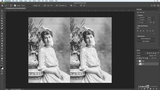 آموزش فتوشاپ برای عکاسان - اضافه کردن سایه رنگ به عکس