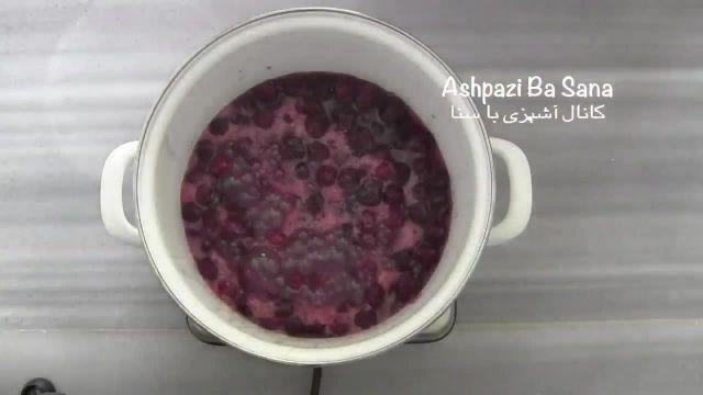 طرز پخت خوشمزه ترین مربای آلبالو در منزل
