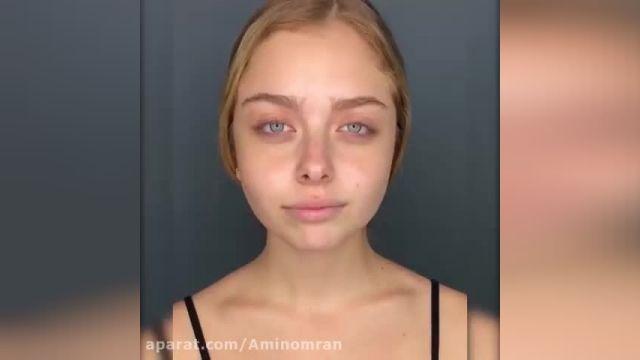آموزش آرایش صورت با جذاب ترین مدل های 2020