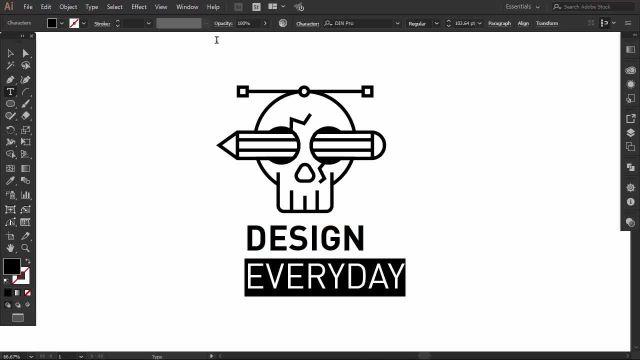 طراحی تیشرت با استفاده از نرم افزار ( illustrator ) قسمت دوم