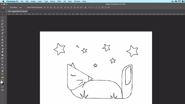 آموزش پیشرفته فتوشاپ - چگونگی جدا کردن لبه سفید از اطراف یک تصویر