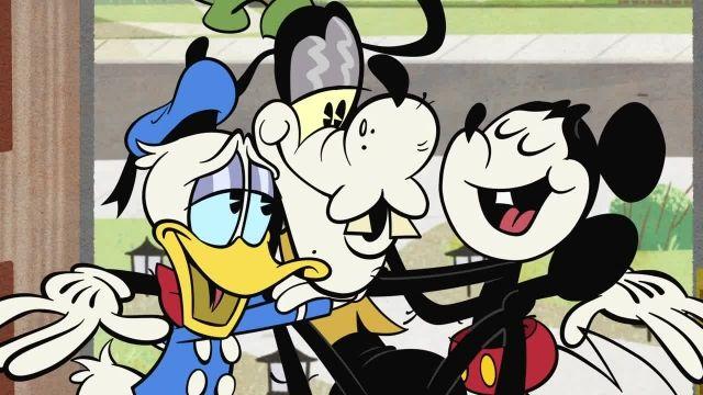 دانلود انیمیشن زیبای میکی موس (Mickey Mouse Cartoon) این قسمت: gone to pieces