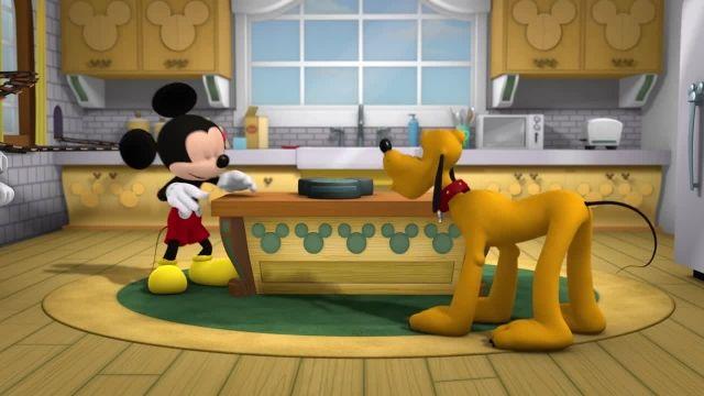 دانلود انیمیشن زیبای میکی موس (Mickey Mouse) این قسمت: انفجار صبحانه میکی
