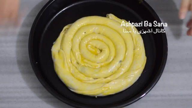 دستور پخت بورک اسفناج و پنیر ترکیه ای خوشمزه
