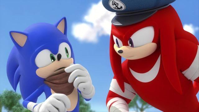 دانلود انیمیشن سریالی سونیک بوم (sonic boom) فصل 1 قسمت 43