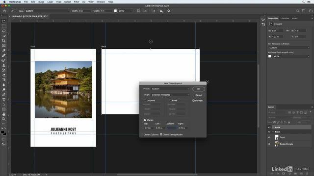 آموزش فتوشاپ برای عکاسان - اصول مربوط به آرت بورد