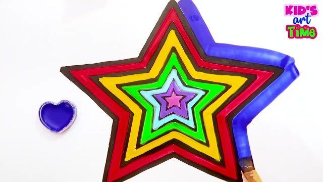 اموزش نقاشی و نحوه کشیدن کامیون و رنگ امیزی ان برای کودکان