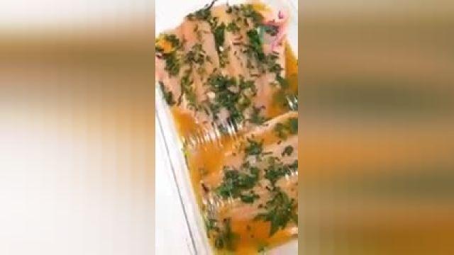 طرز تهیه ماهی کبابی رژیمی سالم و خوشمزه در خانه