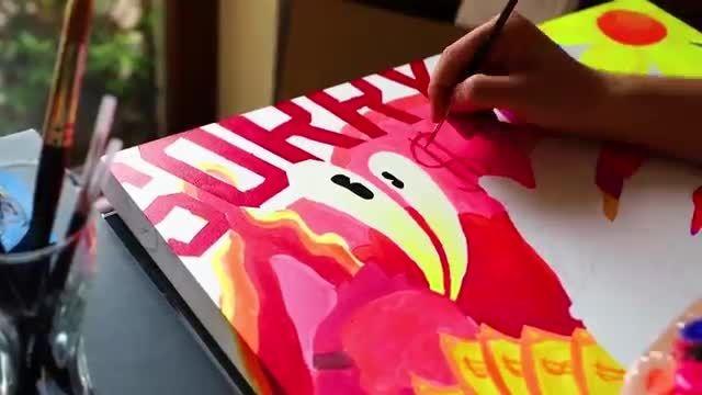 آموزش نقاشی های تلفیقی بسیار زیبا