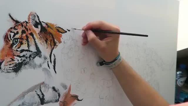 آموزش نقاشی گرافیکی با طرحی منحصر به فرد