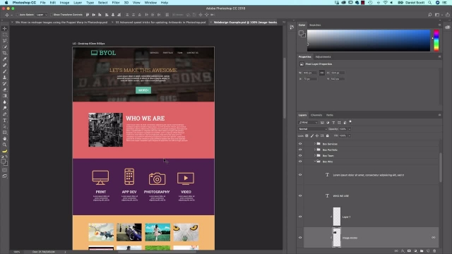آموزش پیشرفته فتوشاپ -سه روش اکسپورت فایل برای رسانه های اجتماعی، وب و پرینت
