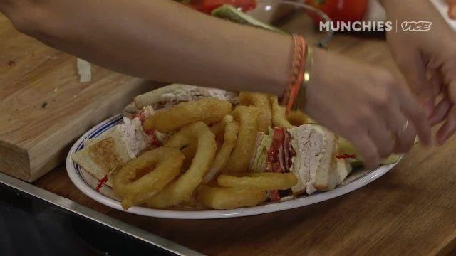 اموزش طرز تهیه ساندویچ کباب ترکی با سر اشپز فریده