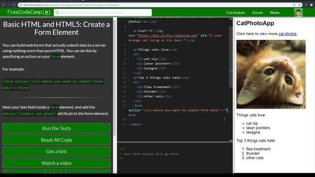 آموزش کامل مبانی html5 -ایجاد عنصر فرم
