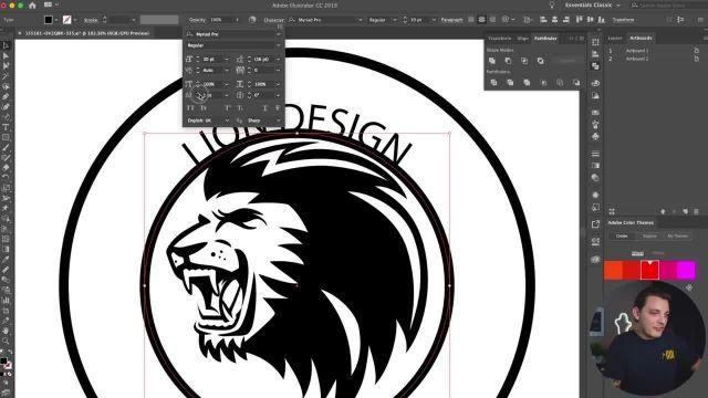 چگونه می توان طراحی تیشرت را در (illustrator) انجام داد؟ (قسمت 1)