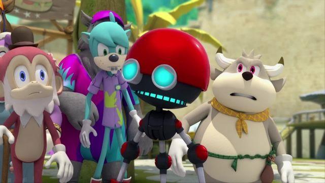 دانلود انیمیشن سریالی سونیک بوم (sonic boom) فصل 1 قسمت 42