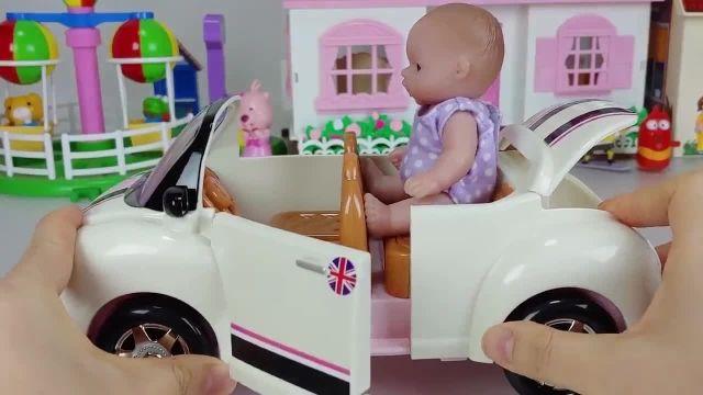 کارتون عروسک بازی دختر کوچولو - کوچولو ها در پیک نیک