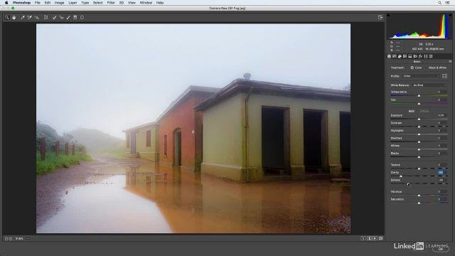 آموزش فتوشاپ برای عکاسان -  ایجاد یک تابش ملایم و پراکنده با فیلتر grain