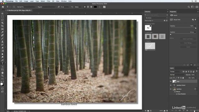 آموزش فتوشاپ برای عکاسان - استفاده از پنل libraries برای ذخیره سازی محتوی
