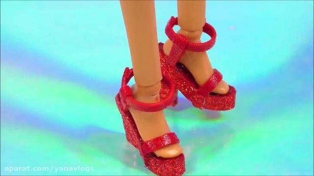 کارتون باربی کوچولو و کفش هایش