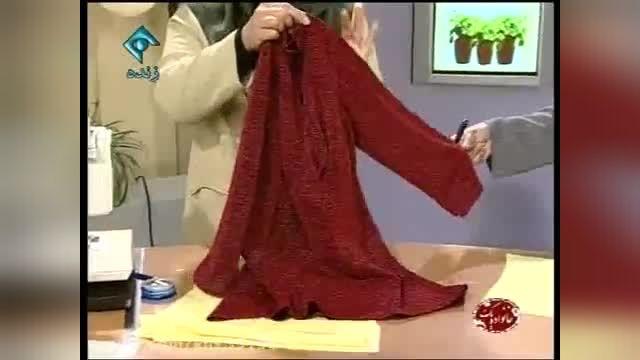 آموزش تصویری خیاطی ، دوخت پیراهن زنانه بسیار ساده !