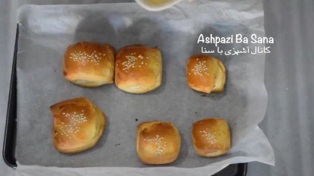 فیلم آموزش طرز تهیه شیرینی دانمارکی در منزل به سبک ایرانی برای عید نوروز