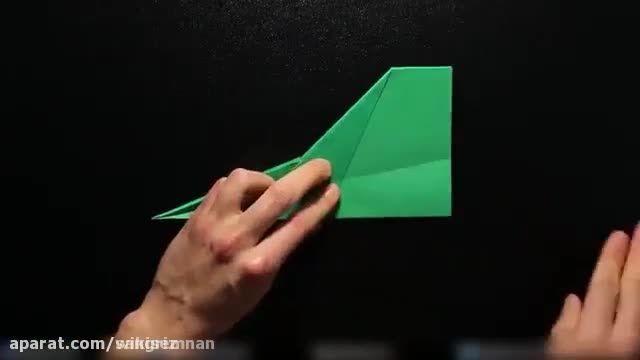 آموزش تصویری ساخت موشک کاغذی بسیار حرفه ای !