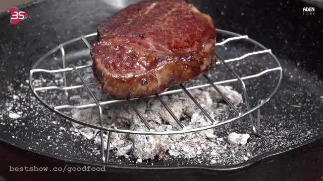 آموزش طرز تهیه استیکِ فیله ی گوشتِ واگیو ژاپن