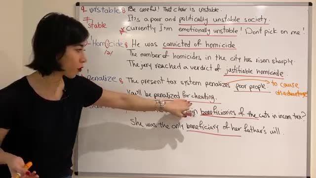 آموزش تصویری ویدیویی کتاب 504 کلمه ضروری انگلیسی درس بیست و دوم