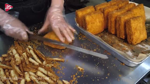 دستور پخت تُست کوفته ی سرخ شده ی کره ای جدید و خوشمزه و فوری