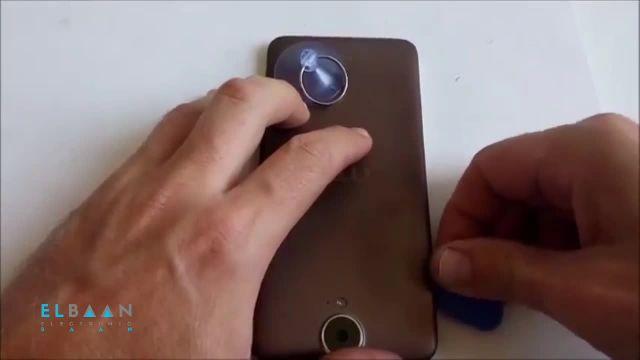 آموزش تعمیرات موبایل - ویدئو باز و بسته کردن گوشی HTC E9 Plus