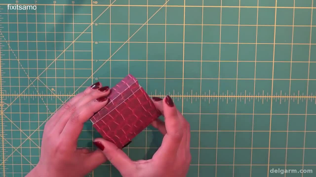 آموزش تصویری ساخت جعبه کادویی با مقوا بسیار شیک