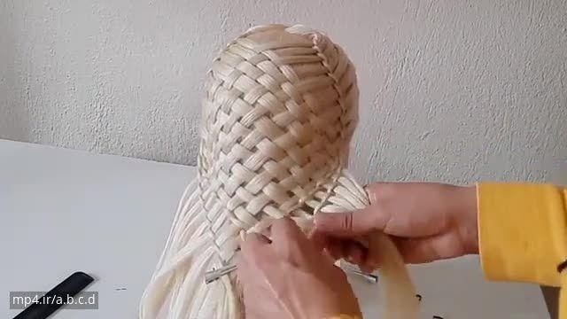 آموزش بستن مدل موی دم اسبی