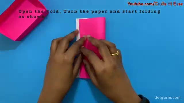 آموزش تصویری ساخت کاردستی مبلمان برای بچه ها با کاغذ رنگی !