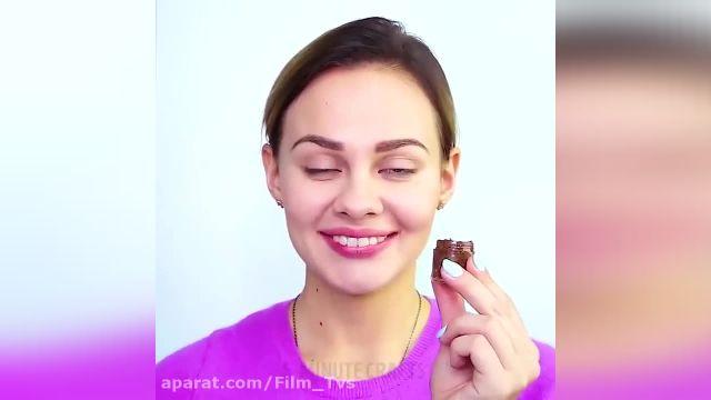 آموزش تصویری ترفند های آرایش صورت برای خانم ها !