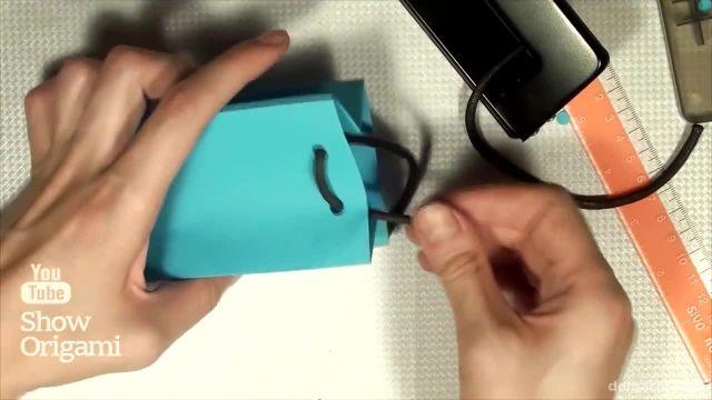 آموزش کامل ساخت پاکت کادویی با مقوا - آموزش تصویری ساختن پاکت برای هدیه دادن !