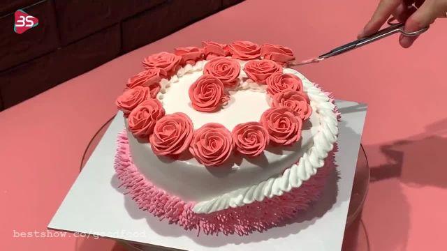 چندین ترفند و ایده جذاب و جدید برای تزئین کیک