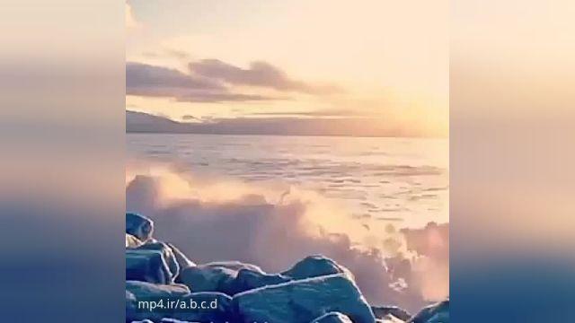کلیپ بسیار زیبا دریا با آهنگ زیبا مخصوص استوری و وضعیت !