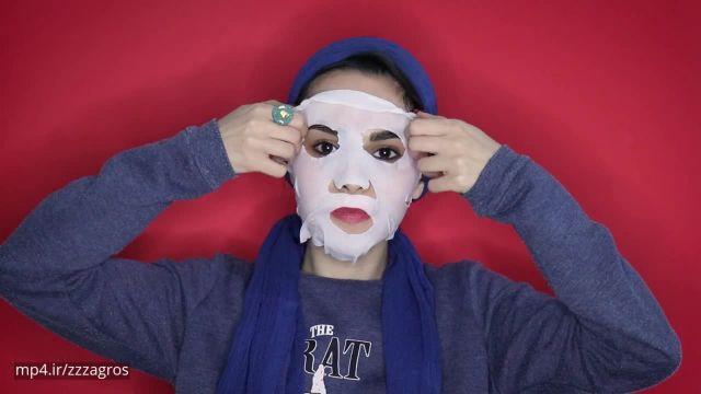 بهترین نوع ماسک های ورقه ای برای تقویت پوست صورت