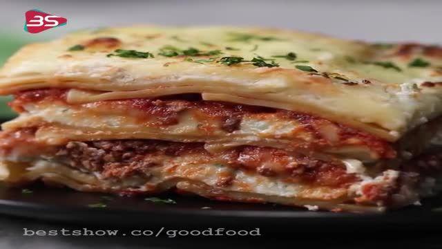 دستور تهیه لازانیای گوشتی با سبزیجات خوشمزه و سالم و بینظیر