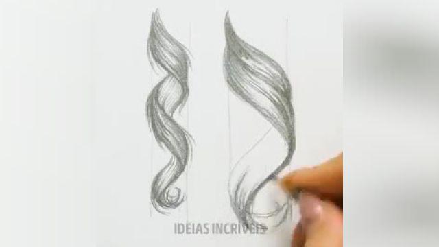 آموزش ویدیویی 30 ترفند آسان برای کشیدن نقاشی های حرفه ای و زیبا !