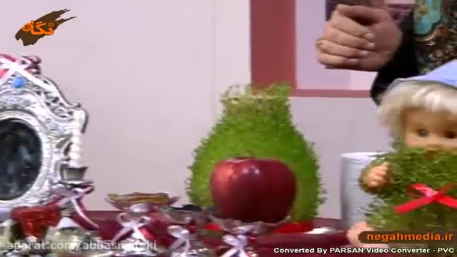 فیلم آموزش روش کاشت سبزه عروسکی - آموزش ساخت سبزه عروسکی در منزل