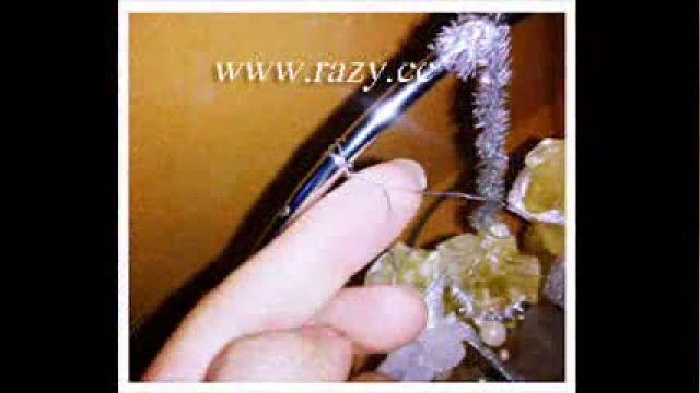 آموزش تزیین جهیزیه عروس - تزیین نبات عروس