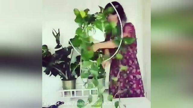 آموزش ساده و کامل تزیین گلدان زیبا