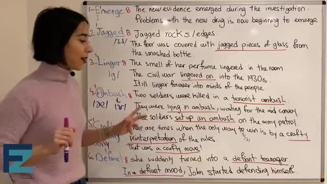 آموزش تصویری ویدیویی کتاب 504 کلمه ضروری انگلیسی درس بیستم