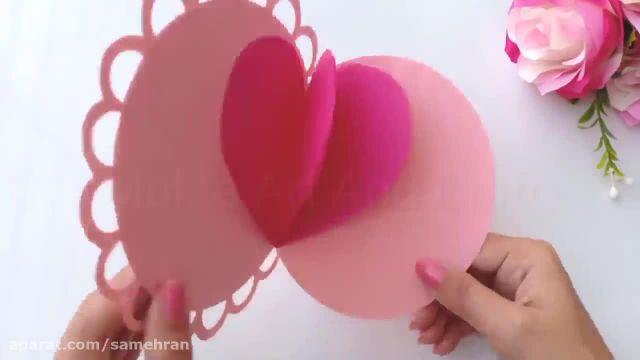 آموزش کاردستی برای روز تولد مادر