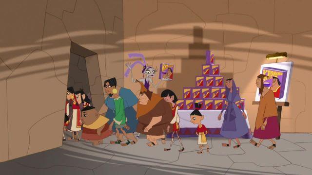 دانلود انیمیشن مدرسه جدید امپراطور فصل اول قسمت بیست و پنج